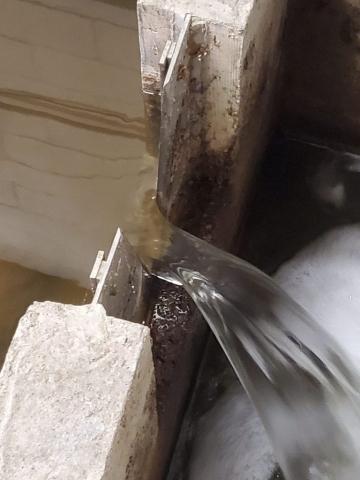 water testing weir