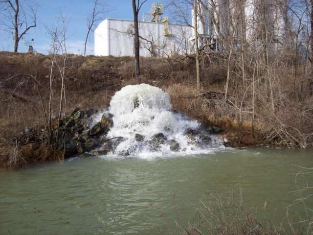 clean discharge water treatment